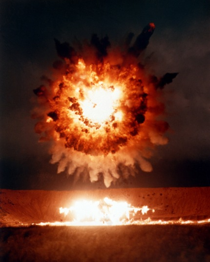 20050304 US Defense VisualIn Tomahawk cruise missile detonation over target San Clemente Island California 19860401