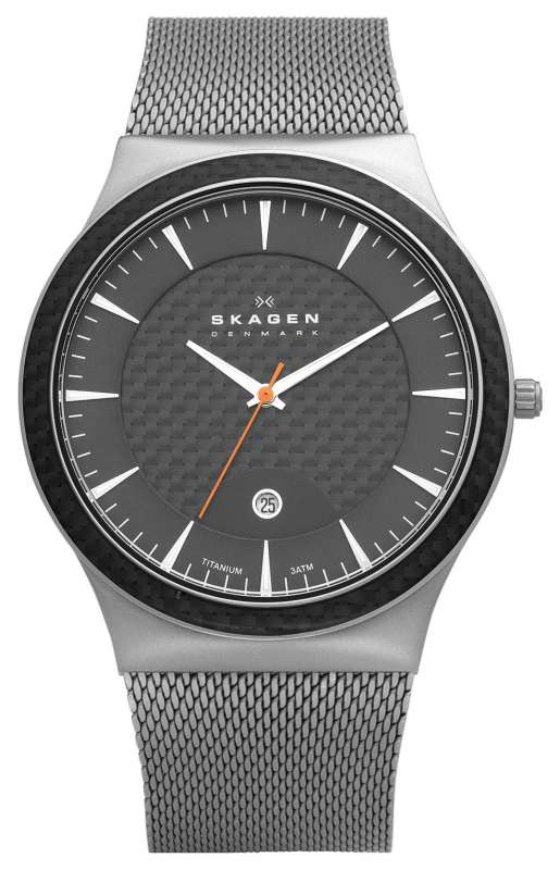 Skagen black watch