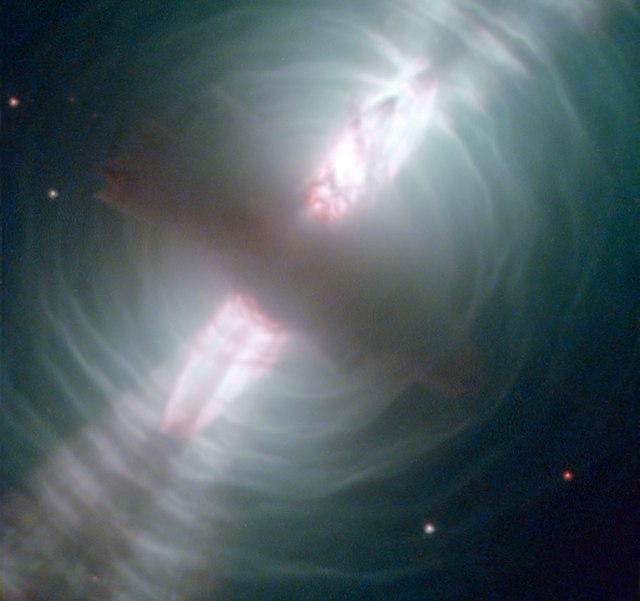 The Egg Nebula (Hubble telescope)