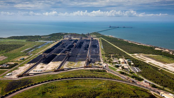 Abbot Point, surrounded by wetlands and coral reefs, is set to become the world's largest coal port should the proposal of coal terminal expansion go ahead.