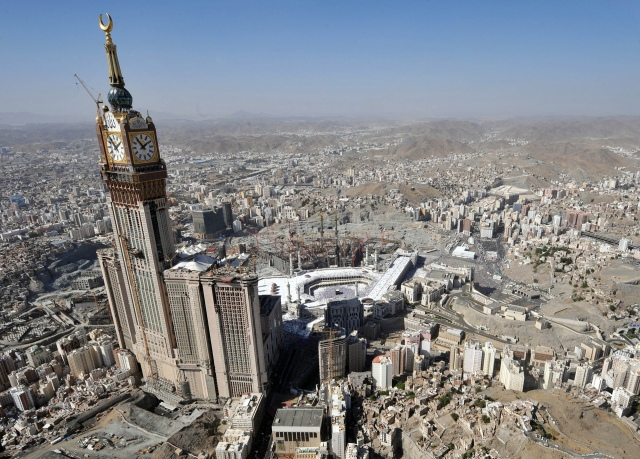Abraj-al-bait Towers Mecca