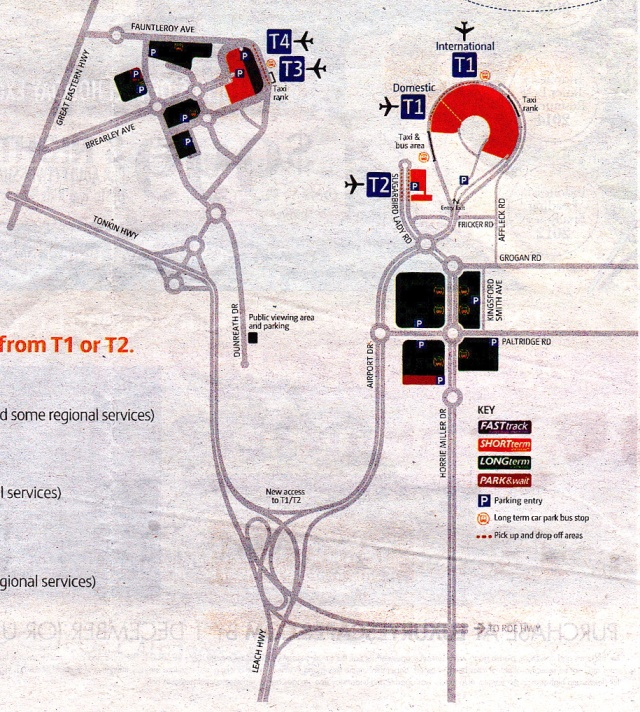 airport map newspaper