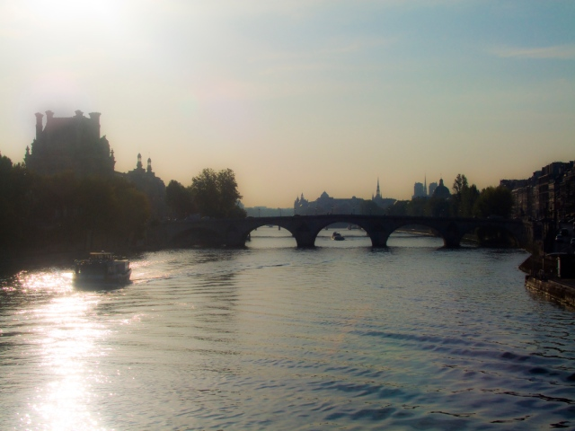 River at dawn 1a