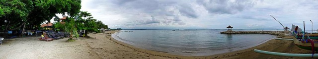 Sanur Shanti beach