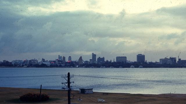 Perth skyline 1967