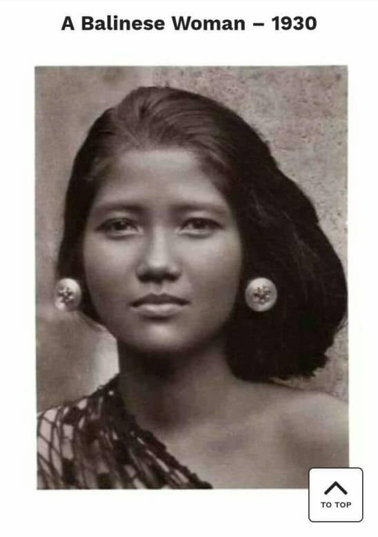 Balinese woman 1930