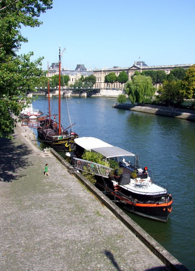 Les bateaux Paris