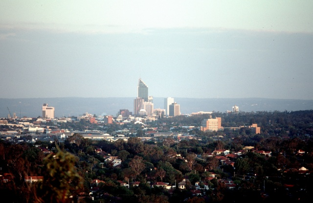 Perth skyline 88