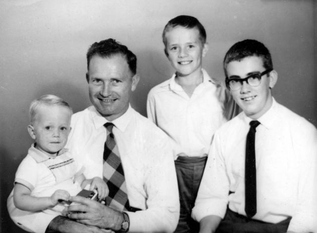 Colin Dad Ian Pete c63