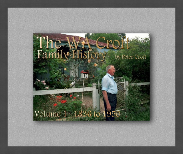 Croft Family History vol1 cover
